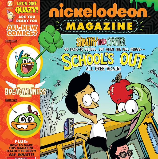 PAPERCUTZ ANNOUNCES INNOVATIVE LIBRARY MARKETING PROGRAM FOR NICKELODEON MAGAZINE!