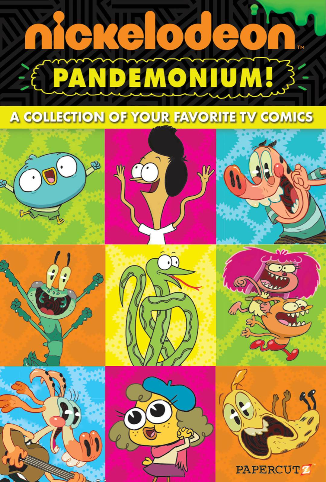Cover to Nickelodeon Pandemonium #1