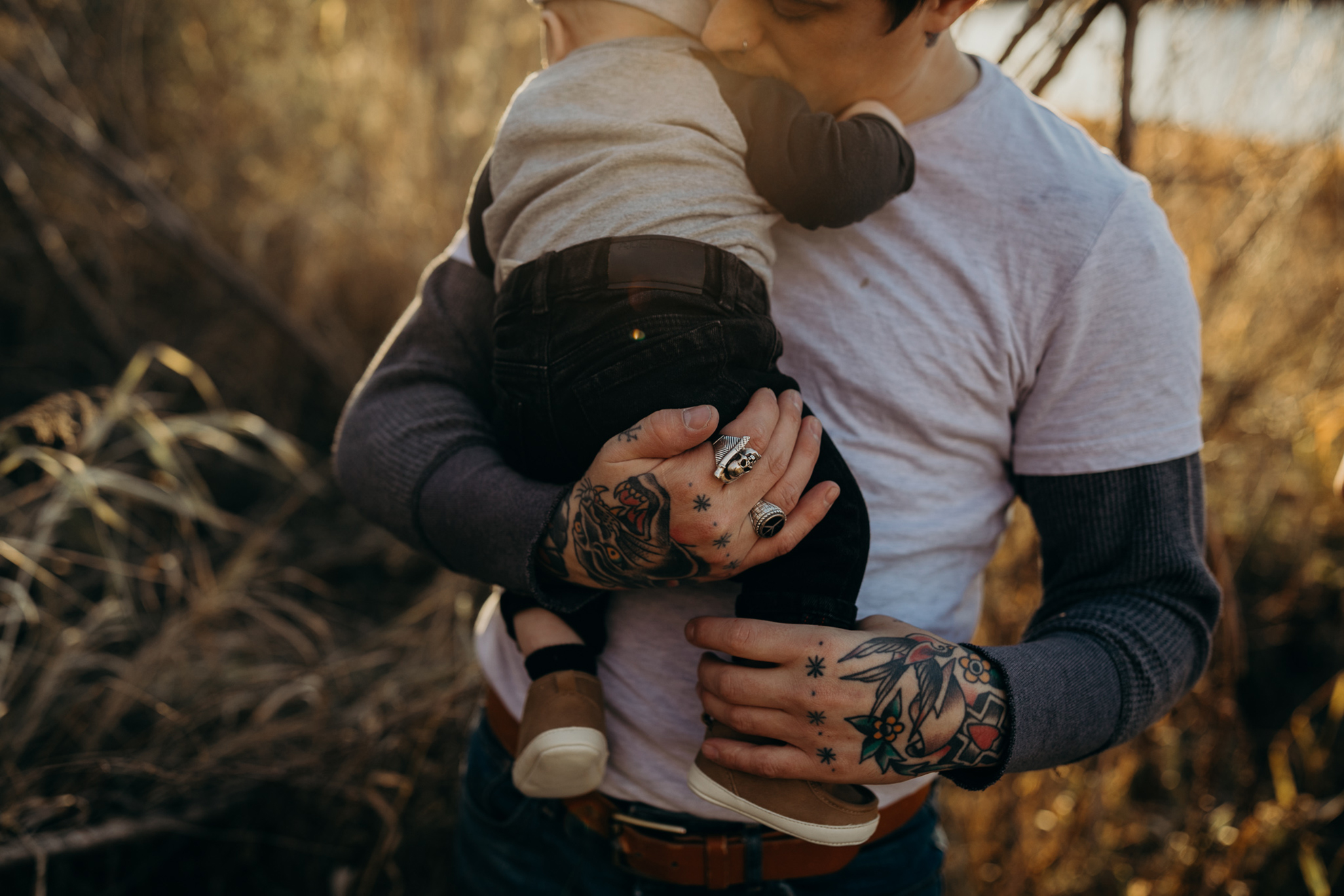tattooed family | ©The Paper Deer Photography | paperdeerphoto.com