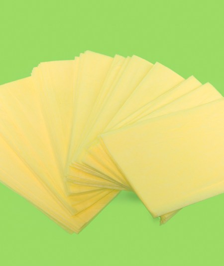 24x24 Yellow Treated Dust Cloths (50/pack)