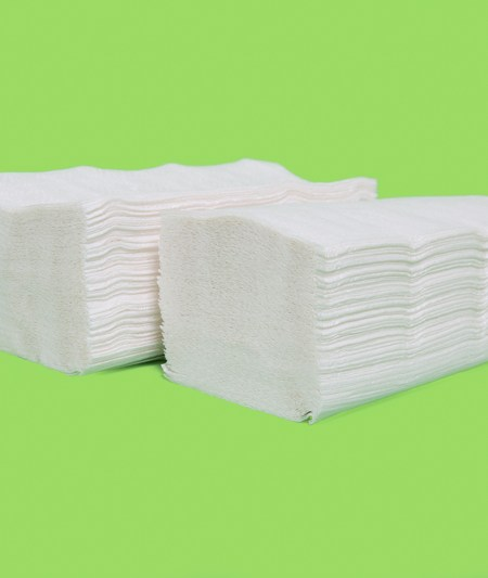 Recycled White Multifold Towels (4000/case)