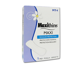 Maxi Pads Vending Units #4 (250/case)
