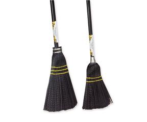 """31"""" Straight Black Plastic Toy Broom"""