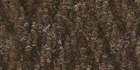 2x3 Brown Plush Mat