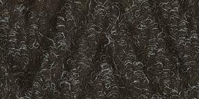 2x3 Gray Plush Mat