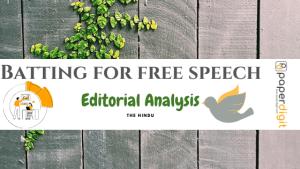 The Hindu Editorial Analysis