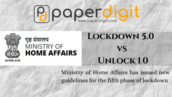 Lockdown 5.0 vs Unlock 1.0 1