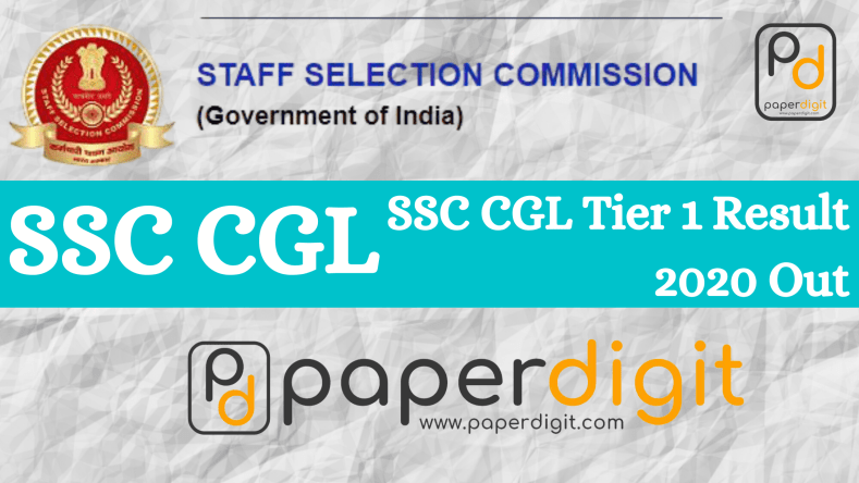 Results | Staff Selection Commission, ssc cgl 2019, 2020