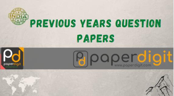 PAPERDIGIT QUESTION PAPERS