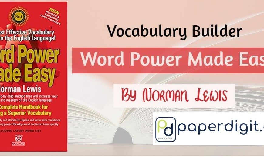Word Power Made Easy Pdf Download By Norman Lewis