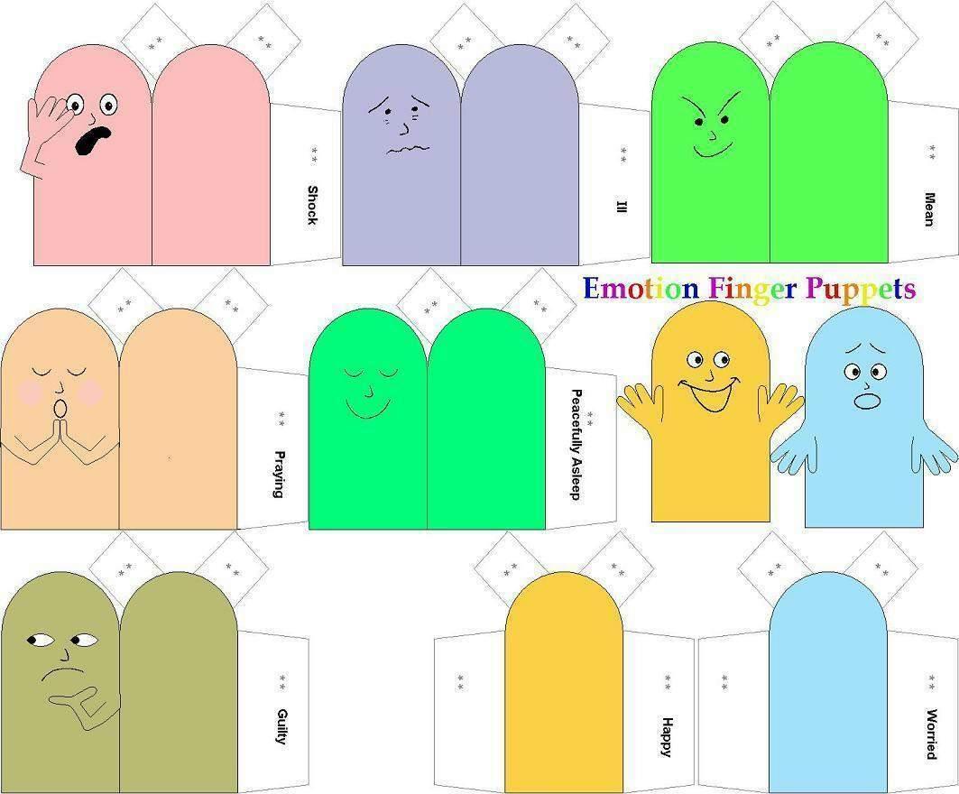 Images About Vingerpopjes Voor Kleuters Preschool