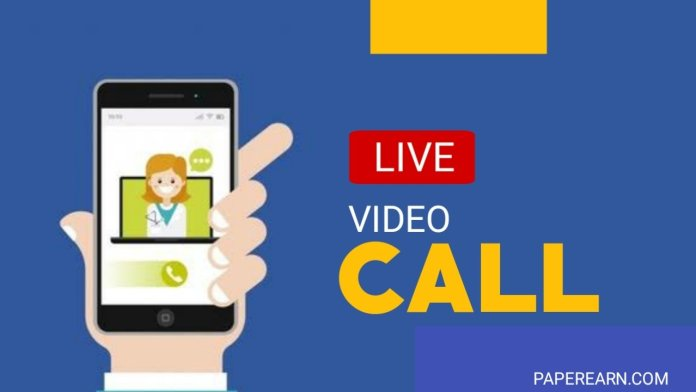 Live video calling with chatting friends - paperearn.com