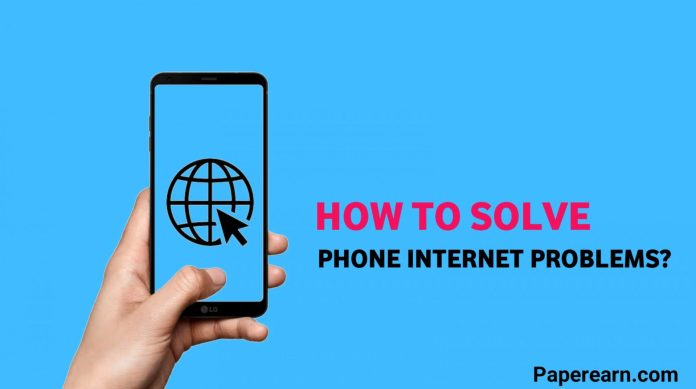 How to Solve Phone Internet Problems