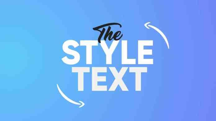 Stylish Text Fonts Keyboard