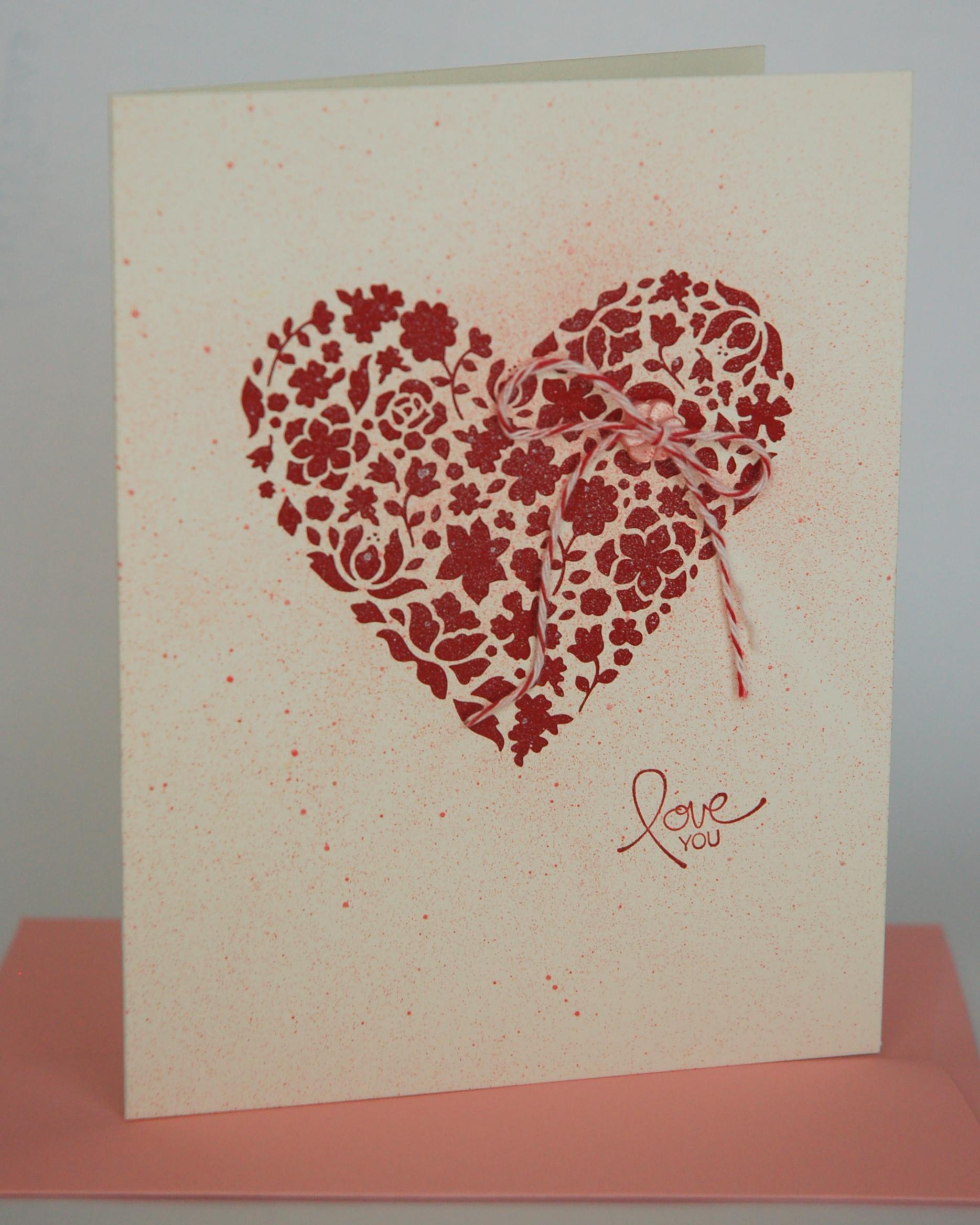 Laser Cut Valentine
