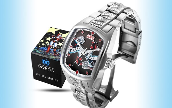 Harley Quinn gets her own Invicta watch designed by Amanda ...