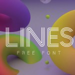 LINES FONT : FREE