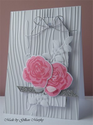 AN pink roses whie woodgrain card 2