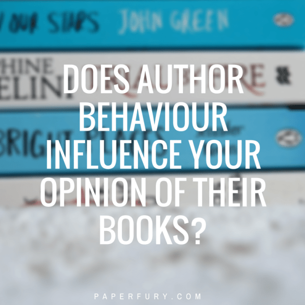 author bad behaviour
