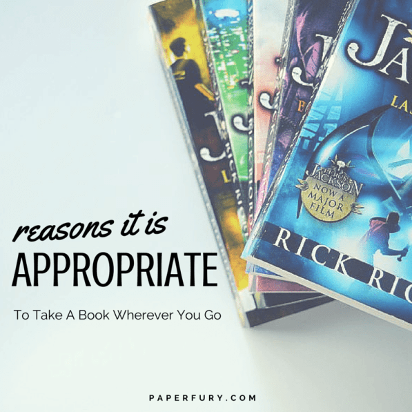 Reasons It's Appropriate To Take A Book