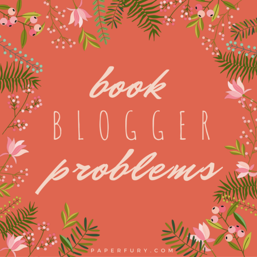 book blogger problems