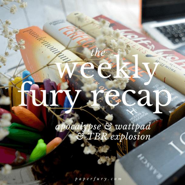 weekly fury febrary