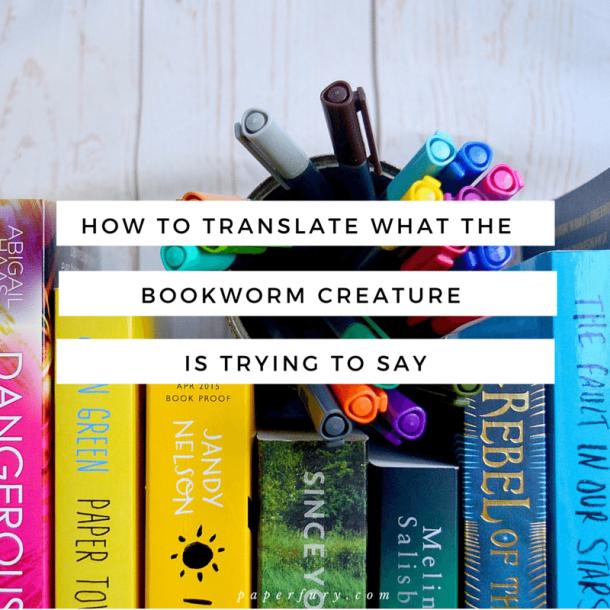 bookworm creature
