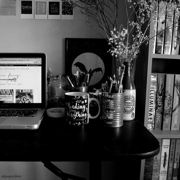 writing work space