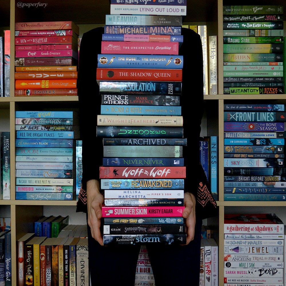 book tower + me