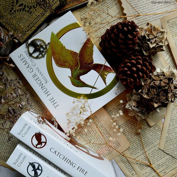 the hunger games trilogy - pages
