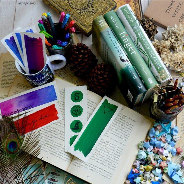 bookmarks + books