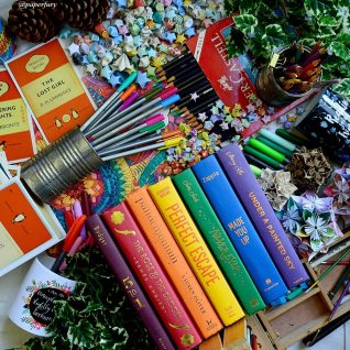 rainbow hardcovers