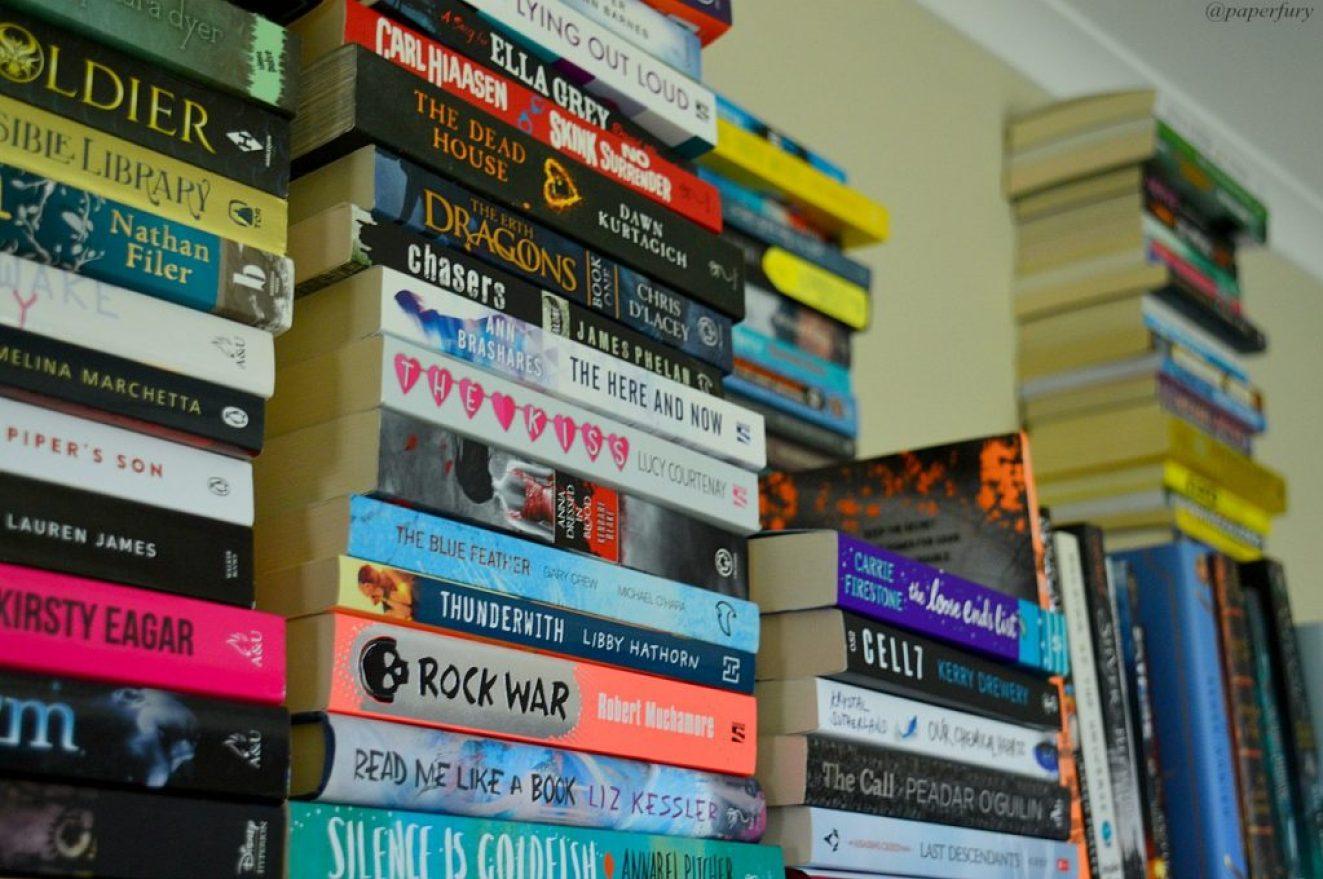 top-of-bookshelf