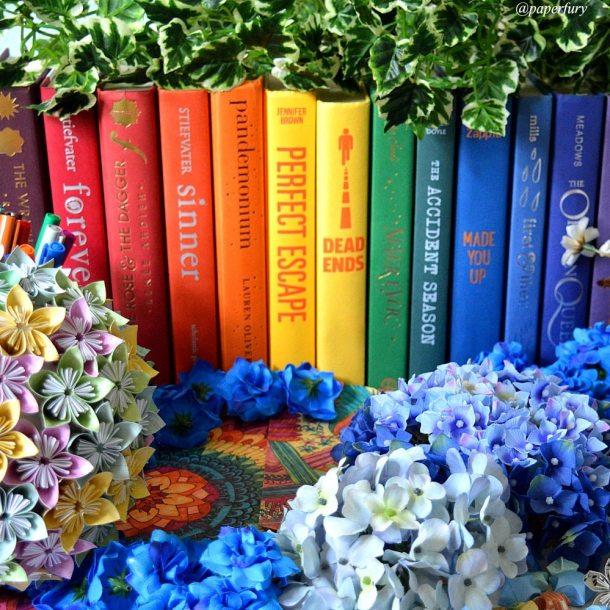 rainbow-line-of-books