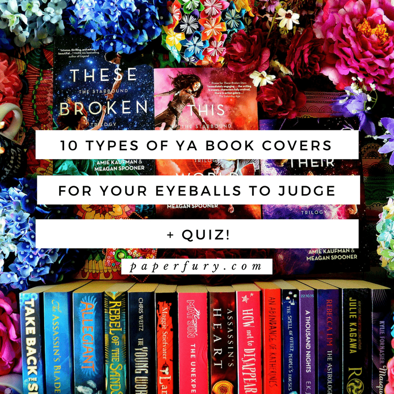 Book Cover Paper Types ~ Types of ya book covers for your little eyeballs to
