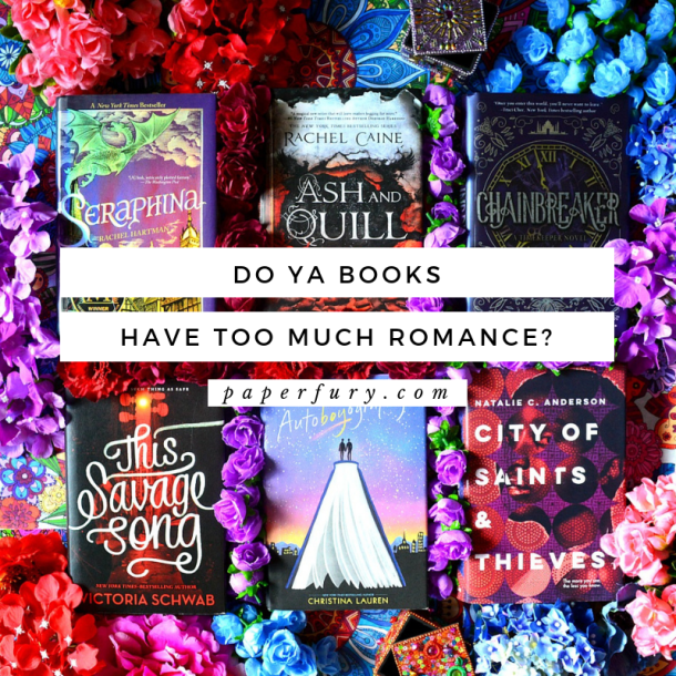 Do YA Books Have Too Much Romance? (Ft  List of YA Books