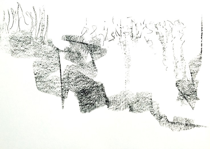 Automatic drawing to music