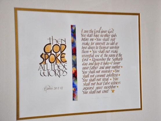 Calligraphy by Vicki Brandt