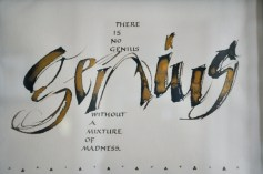 Calligraphy by Kay McWhorter
