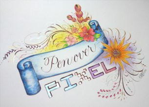 Calligraphy by Miranda Fuller