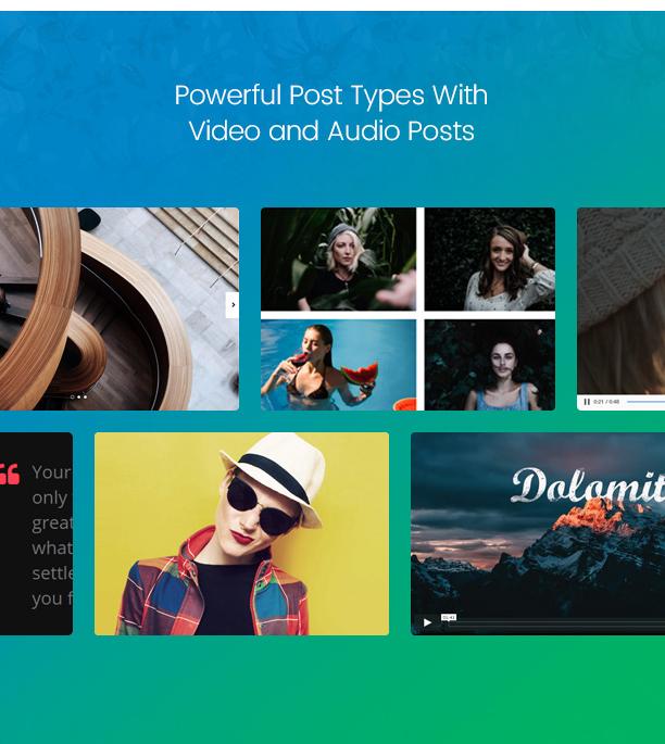 Paperio - Responsive and Multipurpose WordPress Blog Theme - 11