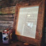 Reclaimed Wood Frame by Sean Murty