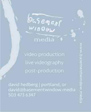 Basement Window Logo Business card