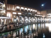 Dubai mall from the bridge