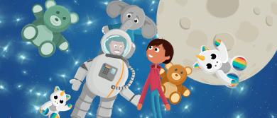Animatie Amalia kinderziekenhuis ter ondersteuning patiënten