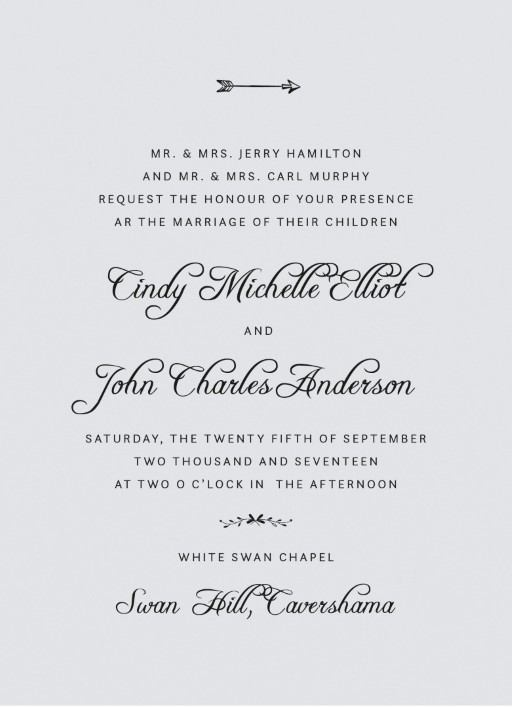 Swan Valley Invitations