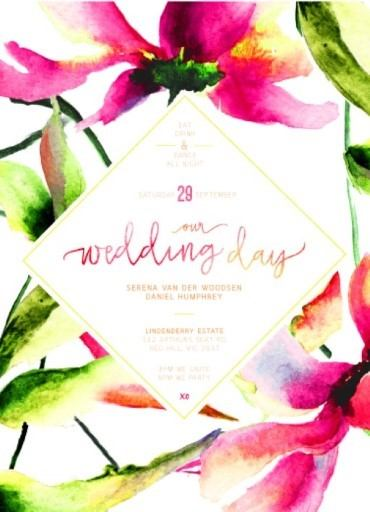 Whimsical Wedding Invitations Make Your Invitation With This Ening Ideas 6