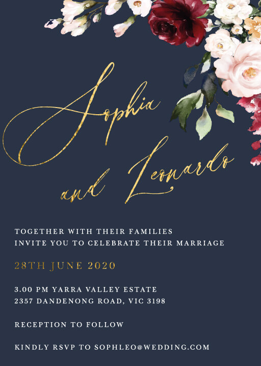 Browse Wedding Invitation Cards Online Customise And Print