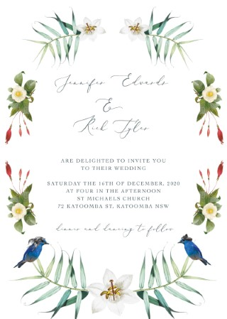 Diy Wedding Invitations Independent Designs Printed By