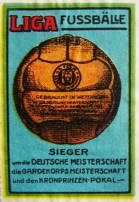 German Soccer Stamp 2
